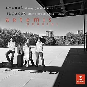 Dvorák: String Quartet No. 13, Op. 106 / Janacek: String Quartet No. 2 ~ Artemis Quartet
