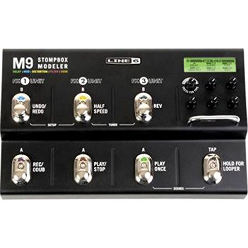 Line 6 M9 Stompbox Modeler Guitar Multi Effects Pedal by Line 6