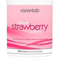 Caron Deluxe Strawberry Creme Strip Wax Microwaveable - 800g