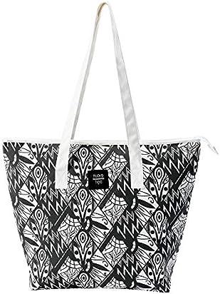 Canvas tote bag by Nuovo Tipo- Shoulder bag ideal as a messenger bag, weekender bag, beach bag, carryon bag or shopping bag