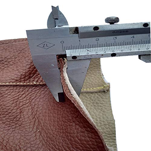 Anti-pet Catching Long and Thick Leather Work Protective Gloves,Brown by Cut-proof protective gloves (Image #2)