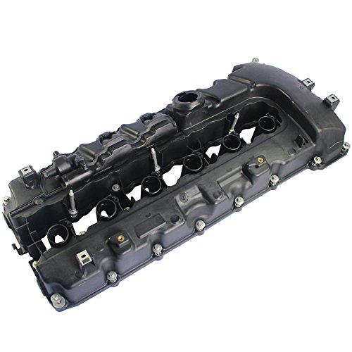 JDMSPEED New Engine Valve Cover 11127565284 for BMW 135I 335I 535I Z4 X6 Turbo Valve Cover (Valve Bmw Cover)