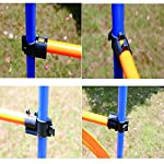 PAWISE Pet Dogs Outdoor Games Agility Exercise Training Equipment Agility Starter Kit Jump Hoop Hurdle Bar 10