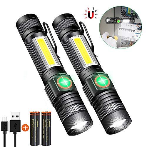 LED Flashlight Rechargeable 18650