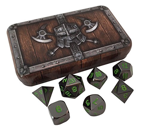 Skull Splitter Polyhedral Playing Dice product image