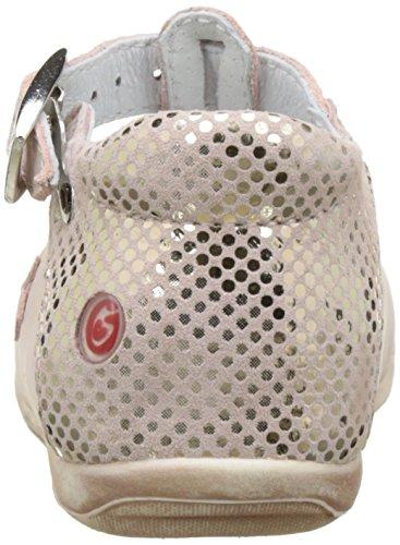 GBB Pascale - Zapatos de primeros pasos Bebé-Niños Rose (Vte Rose Chair Dpf/Kezia)
