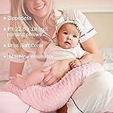 Vextronic Nursing Pillow Cover Plush Breastfeeding
