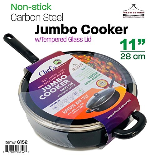 Wee's Beyond 6152 Heavy Duty Non-Stick Jumbo Cooker / Sauté Pan by Wee's Beyond (Image #2)