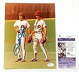 Pete Rose / Mike Schmidt Signed 8x10 Color Photo Phillies Auto - JSA Certified - Autographed MLB Photos