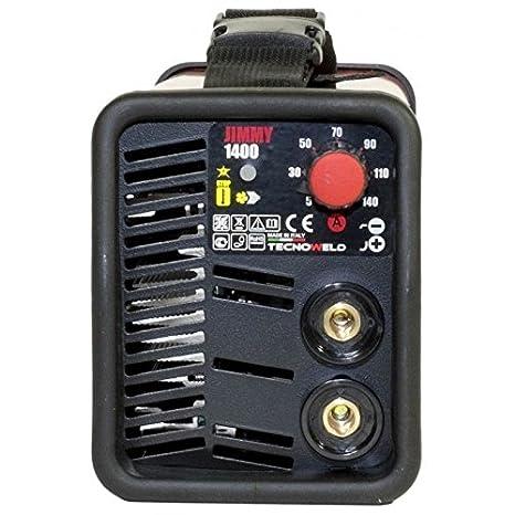 A soldador Inverter 140 A - Jimmy 1400 caso: Amazon.es: Bricolaje y herramientas