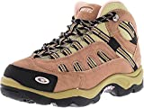 Hi-Tec Women's Bandera Mid Waterproof Taupe/Blush Mid-Top Suede Hiking Boot - 6M