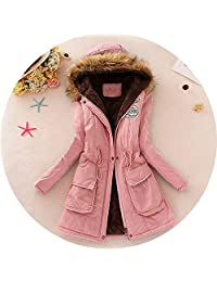 Be fearless 2019 New Parkas Female Women Winter Coat Thickening Cotton Winter Jacket Womens Outwear,Pink,S