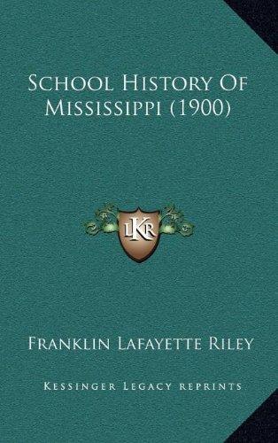 Download School History Of Mississippi (1900) pdf epub