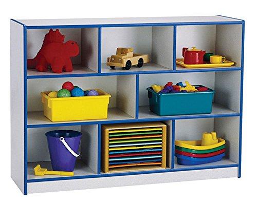 - Offex Kids Toy Organizer Super-Sized Single Mobile Storage Unit - Black