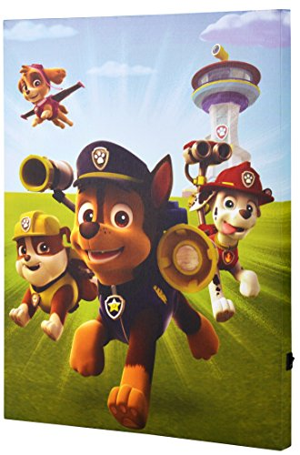 """Edge Home Products Paw Patrol Dogs Field 12"""" X 16"""" Portrait"""