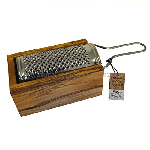 Olive Wood Parmesan / Cheese Grater in box - Medium Amazon.co.uk Kitchen u0026 Home  sc 1 st  Amazon UK : box cheese grater - Aboutintivar.Com