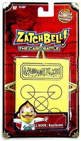 (Zatchbell (The Card Battle) Spell Book : Kanchome by Viz Media)