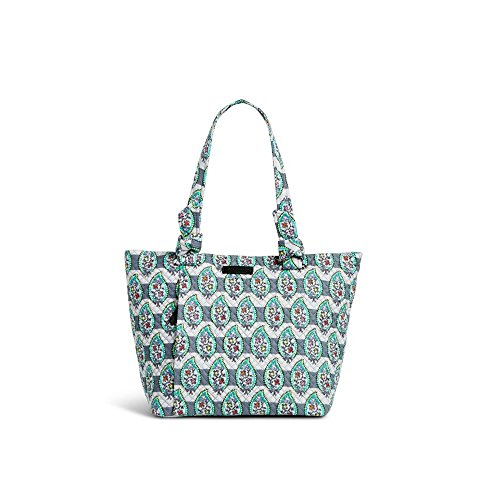 Vera Bradley Hadley East West Tote in Paisley Stripes Signature Cotton