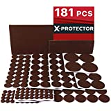 Charmant X PROTECTOR Premium ULTRA LARGE Pack Felt Furniture Pads 181 Piece! Felt Pads  Furniture