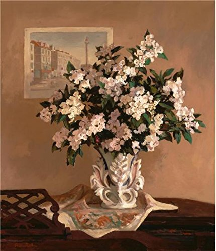 Oil Painting 'Andree Ruellan,Mountain Laurel,1930-1937', 8 x 9 inch / 20 x 24 cm , on High Definition HD canvas prints is for Gifts And Garage, Gym And Hallway Decoration, - Detroit Eyeglasses Area