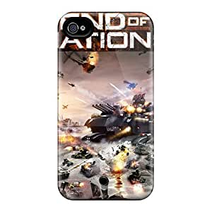 Awesome Design End Of Nations Game Hard Case Cover For Iphone 4/4s