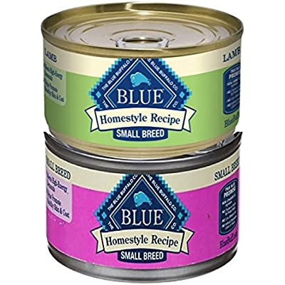 Blue Buffalo BLUE Homestyle Recipe Small Breed Wet Dog Food, 5.5 Ounces (Pack of 8)