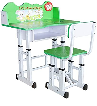 Delicieux TruGood Study Table Desk And Chair Set For Boys And Girls (Green):  Amazon.in: Electronics