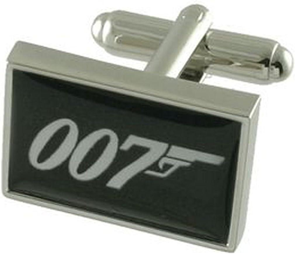 Gift for him James Bond cuff link 007 Cuff links Art Gifts James Bond 007 Retro Cufflinks