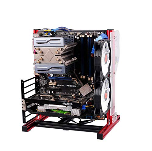 PC Test Bench Open Frame for ATX MATX Motherboard Aluminum Acrylic Computer Case DIY Mod Host Stand ATX ITX (Best Pc Test Bench)