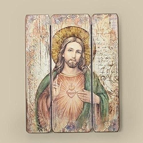 - Joseph's Studio Sacred Heart Religious Wall Art