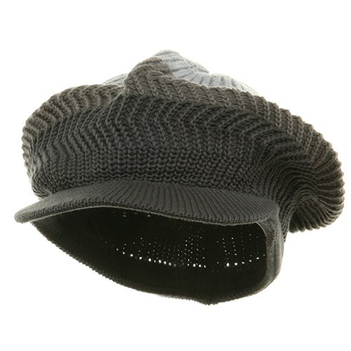 New Crown Beanie Visor-Grey steel (For Big Head)