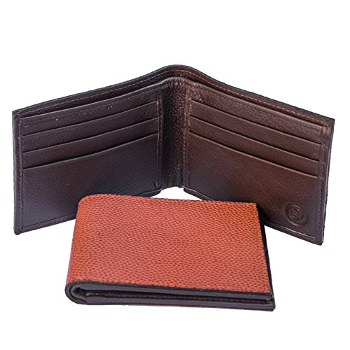 Basketball Bifold Mens Gift Box in Sports Leather Wallet Genuine qO8wfUFx
