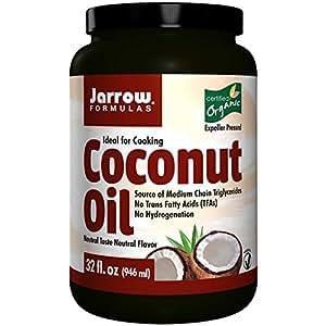 Jarrow Formulas, Organic Coconut Oil, Expeller Pressed, 32 fl oz