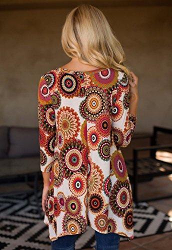 MIROL-Womens-Spring-Floral-Print-34-Sleeve-Irregular-Hem-Asymmetrical-Tunic-Loose-Long-Blouse-Tops