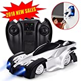 zero gravity remote control car - Remote Control Car RC Car - J-DEAL Mini Climbing Vehicle with Radio Control, Dual Mode 360° Rotating Stunt Car, Home Gravity Toy Car, Children Sport Racing Vehicle, Rechargeable Kids Elec