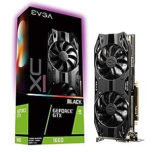 Tarjeta gráfica EVGA GeForce GTX 1660, 6 GB, GDDR5