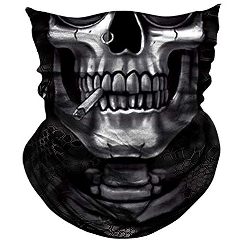 AXBXCX Skull Skeleton Face