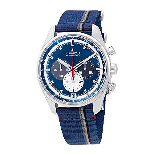 (Zenith Chronomaster El Primero Blue Sunray Dial Men's Chronograph Watch 03.2040.400/53.C802)