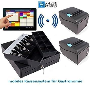 GDPdU mobile-Caja registradora para restaurante, Cafe, cerveza jardín: 8Terminal
