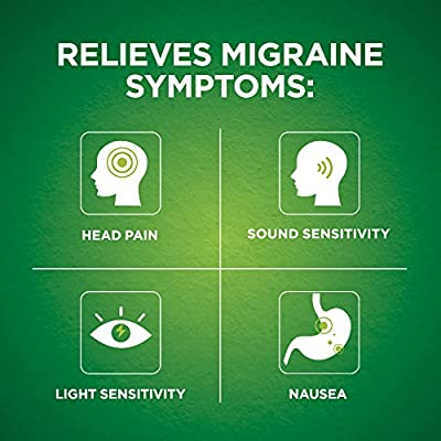 Excedrin Migraine Caplets for Migraine Pain Relief, 200 count