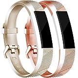 Tobfit 2Pcs Fitbit Alta HR Bands/Fitbit Alta HR Bands for...