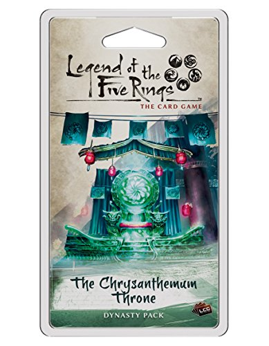 Legend of the Five Rings: The Card Game - The Chrysanthemum Throne Expansion Pack