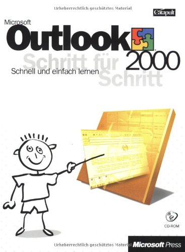 Microsoft Outlook 2000 Schritt für Schritt, m. CD-ROM