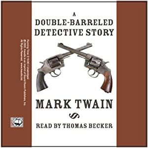 A Double-Barreled Detective Story Audiobook