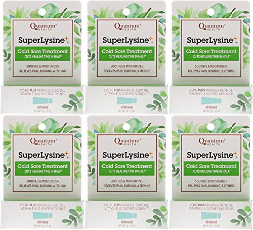 Quantum Super Lysine Plus Ointment Cream, 7 Gram - 6 per case. by Quantum