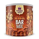 corn nuts chips - Imperial Mixed Nuts Bar Mix - Tasty Nut Snack Featuring BBQ Corn Nuts, Oriental Rice Cracker Mix, BBQ Corn Sticks, BBQ Peanuts, BBQ Rye Bagel Chips. (Crunchy BBQ)
