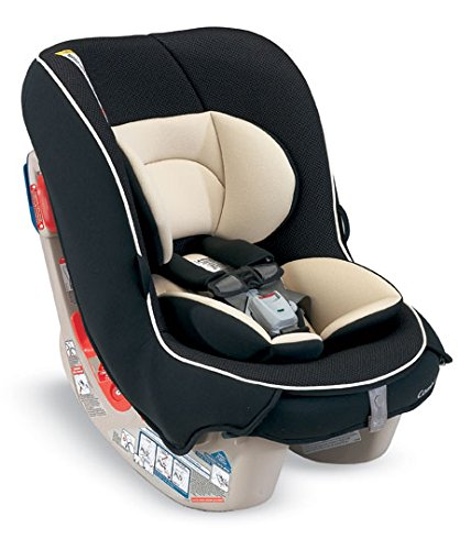 Combi Compact Convertible Car Seat Rear and Forward Facing for Baby and Toddler - Fits Three Across - Coccoro