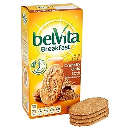 Belvita desayuno Galletas crujientes de avena 6 x 50g