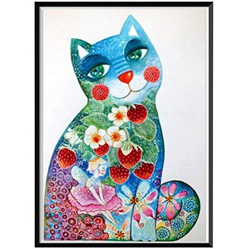 lightclub DIY Animal Partial Diamond Painting Wolf Tiger Horse Cross Stitch Craft Decor Q1040