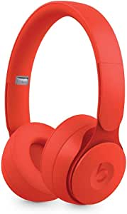 Beats Solo Pro WirelessNoise Cancelling On-Ear Headphones - Apple H1 Headphone Chip, Class 1Bluetooth, Active Noise Cancelling, Transparency, 22 Hours Of Listening Time- Red (Renewed)